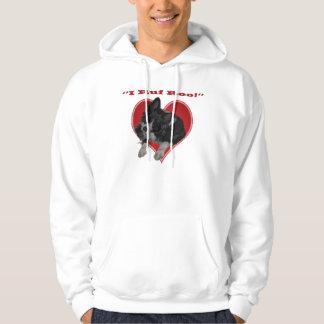 I ruf roo Border Collie Valentine Shirt