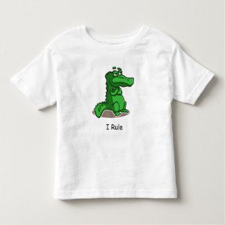 I Rule Alligator Toddler T-shirt