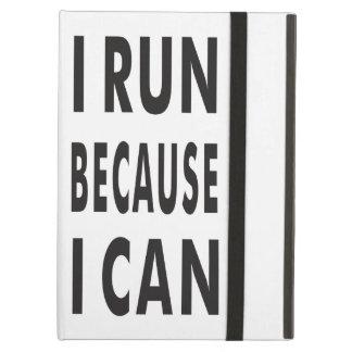 I RUN BECAUSE I CAN iPad Air Case