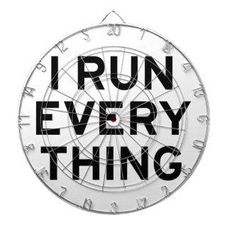 I Run Every Thing Dartboard