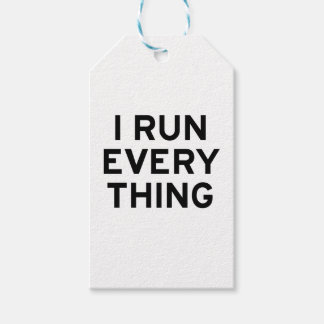 I Run Every Thing Gift Tags