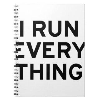I Run Every Thing Notebooks