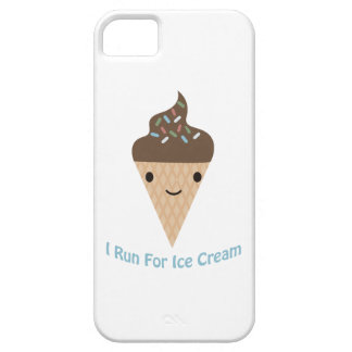 I run for Ice Cream iPhone 5 Covers