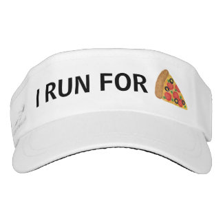 I Run for Pizza Visor