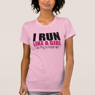 I run like a Girl Tees