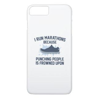 I Run Marathons iPhone 8 Plus/7 Plus Case