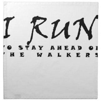 I run napkin