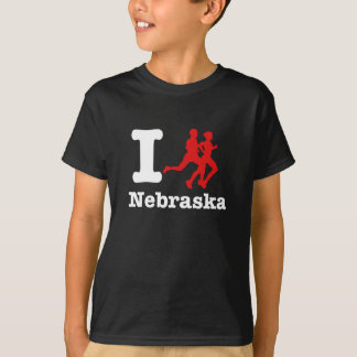 I run Nebraska T-Shirt