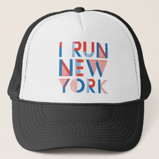 I Run New York Trucker Hat