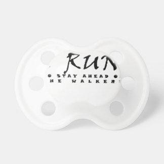 I run pacifier