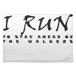 I run placemat