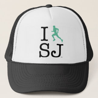 I Run SJ Trucker Trucker Hat