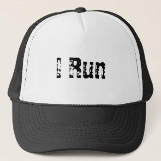 I Run Trucker Hat
