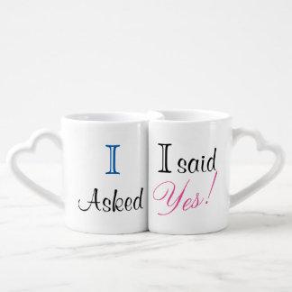 I said yes! Mug