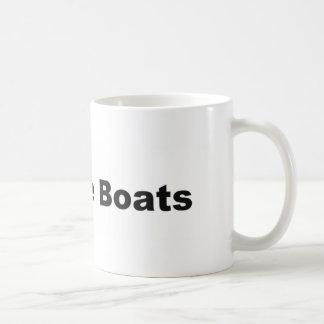 I Sail Little Boats Mug