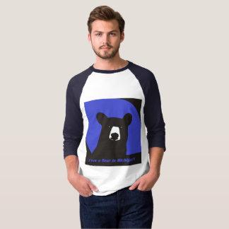 I saw a bear in Michigan T-Shirt