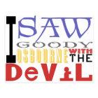 I Saw Goody Osbourne w/ The Devil Postcard