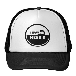 I SAW NESSIE - LOCH NESS MONSTER TRUCKER HAT