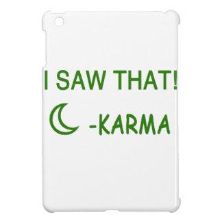 I Saw That Karma funny present Cover For The iPad Mini