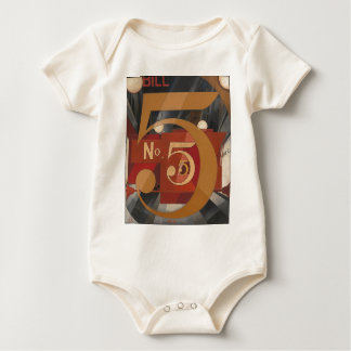 I Saw the Figure 5 in Gold Baby Bodysuit
