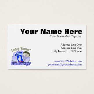 I Say Jump [173rd Airborne] Business Card