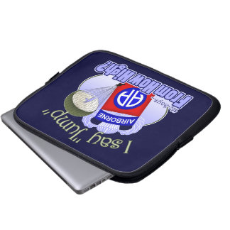 I Say Jump [82nd Airborne] Laptop Computer Sleeves