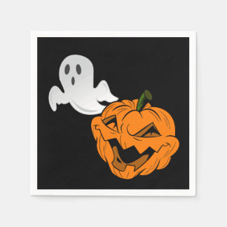 I Scare Ghosts Halloween Party Paper Napkins