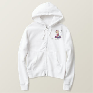 I Scrapbook Embroidered Hoodie
