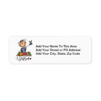 I Scrapbook Return Address Label