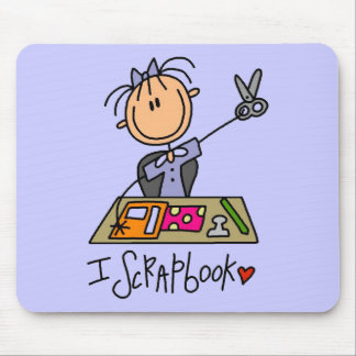I Scrapbook Tshirts and Gifts Mouse Pad