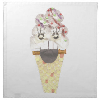 I Scream Cloth Napkins