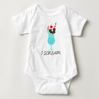 I Scream Ice Cream, Malt Drink, Infant Creeper
