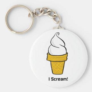 I Scream Keychain