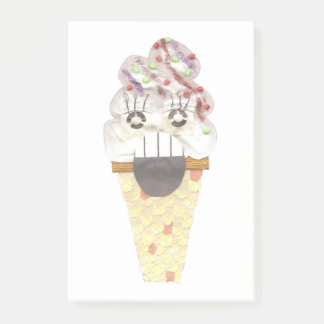 I Scream No Background Post-It Notes