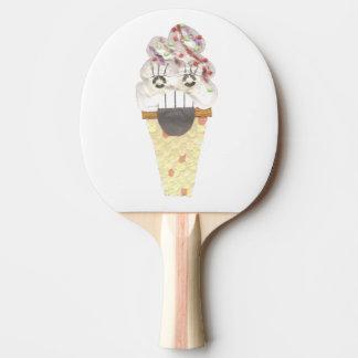 I Scream Ping Pong Bat Ping Pong Paddle