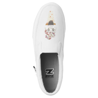 I Scream Women's Slip On Shoes