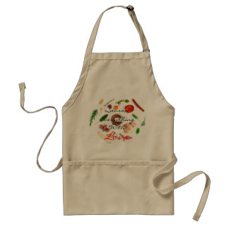 I season everything with love standard apron