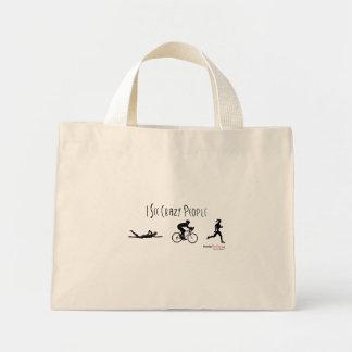 I See Crazy People Mini Tote Bag