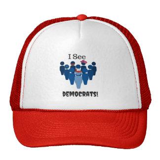 I See Democrats! 2016 Trucker Hat