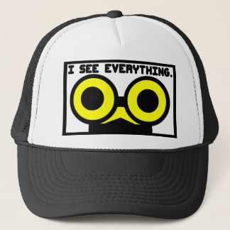 I See Everything. Critter Trucker Hat