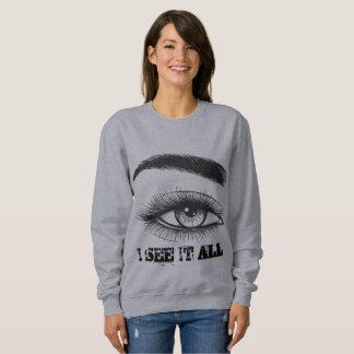 I see it all Third Eye VIsion Sweatshirt
