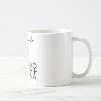 I See Short People Classic White Coffee Mug