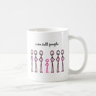 I See Tall People Classic White Coffee Mug