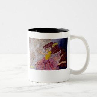 I see the moon, the moon see's me! Two-Tone coffee mug