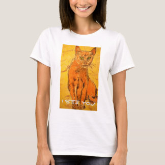 i see you cat T-Shirt