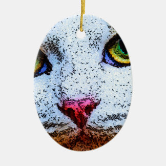 I See You Ceramic Ornament