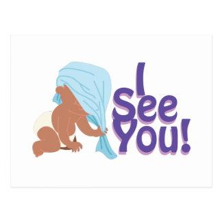 I See You! Postcard