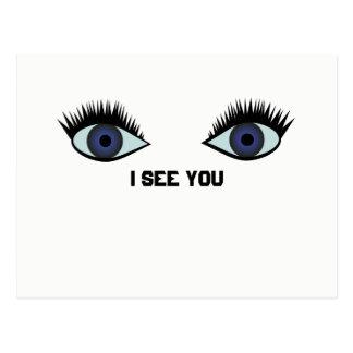 I see you postcard