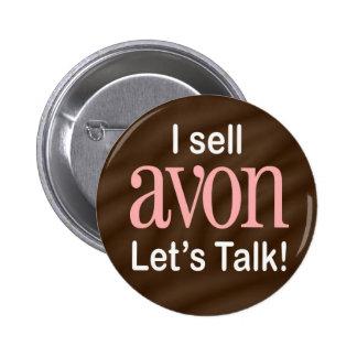 I Sell Avon Button