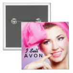I Sell Avon square button